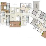 Tower E - Typical Odd Floor Plans220x220