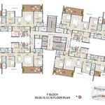 Tower F - Typical Even Floor Plans220x220